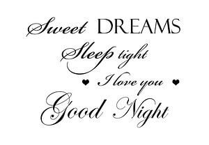 Sweet dreams - Wit