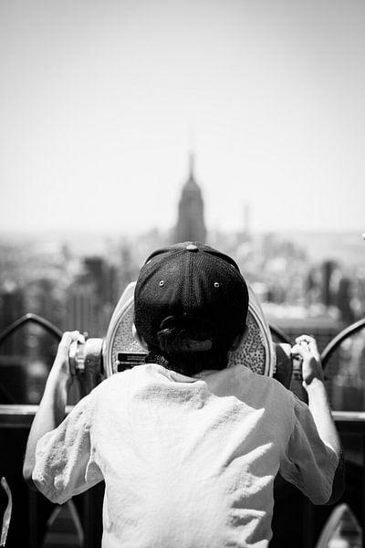 Empire State Admirer van Fardo Dopstra