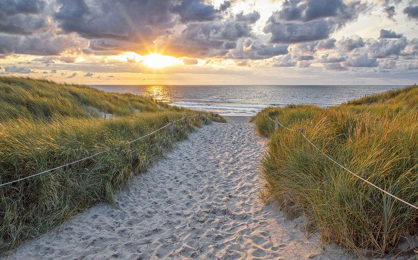 Strandaufgang Texel von Justin Sinner Pictures ( Fotograaf op Texel)