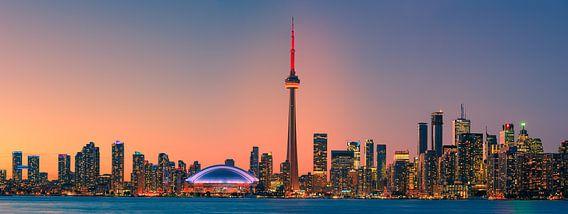 Panorama van de Toronto Skyline