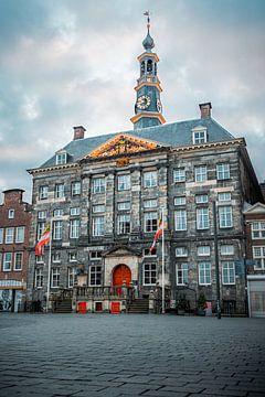 Stadhuis 's-Hertogenbosch in volle glorie von Niek Wittenberg