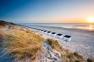 Texel, het strand bij Paal 17 van