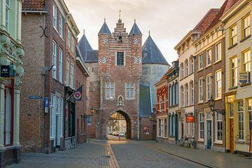 Gefangenentor, Lievevrouwenstraat, Bergen op Zoom, Niederlande von Peter Apers