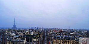 Parijs van boven von Vincent Van de put