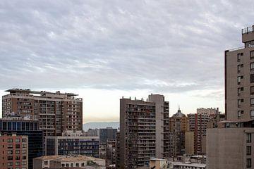 Die Häuser in Santiago. von Amy Verhoeven