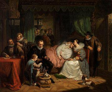 Prinz Wilhelm I. wurde von seiner Gattin, Nicolaas Pieneman, gepflegt,