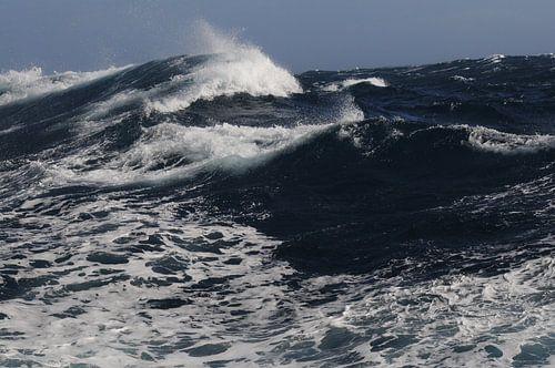 South Atlantic Ocean  by windforce 10 van Peter Zwitser