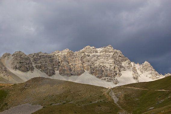 Bergrug rond de Frans/Italiaanse grens