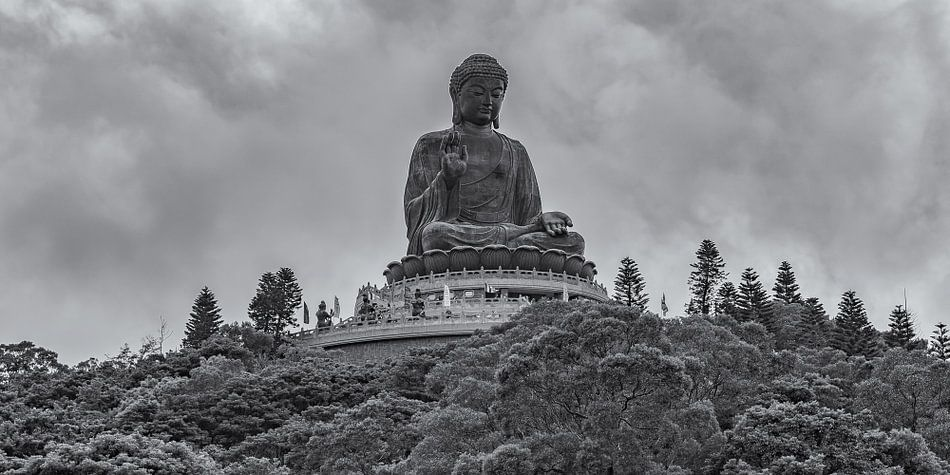 Hong Kong - Tian Tan Buddha - 3 van Tux Photography