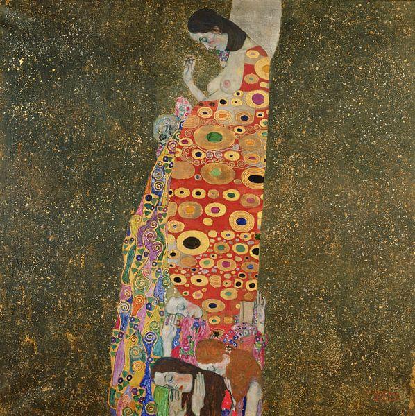 Hoffnung, Gustav Klimt von Bridgeman Masters