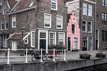 La maison rose sur Elles Rijsdijk