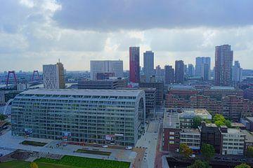 Markthal & Skyline Rotterdam sur Michel van Kooten