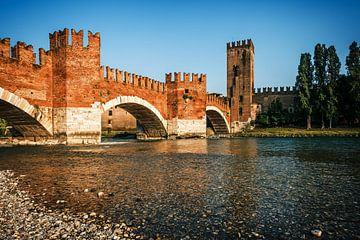 Verona - Ponte di Castelvecchio van Alexander Voss