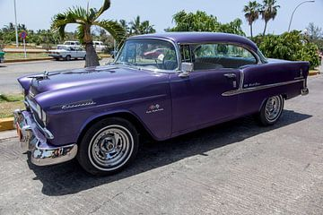 Cubaanse Chevrolet Bel Air (kleur)