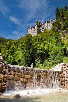 Kasteel Neuschwanstein bij Füssen van John Stuij