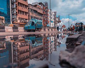 Eerste ervaring in India, New Delhi van Niels Rurenga