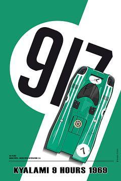 Kyalami 9 Stunden 1969, 917 David Piper von Theodor Decker