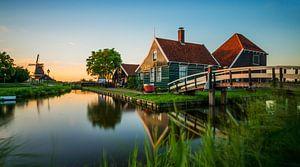 Golden Hour @ Zaanse Schans