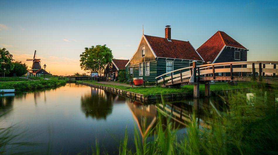 Golden Hour @ Zaanse Schans van Martin Podt