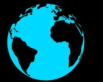 Die Erde - Großer blauer Planet von Marcel Kerdijk