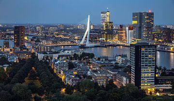 Ein schöner Blick über Rotterdam vom Euromast aus. von Claudio Duarte