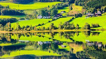 Vangsvatnet, Norwegen von Henk Meijer Photography