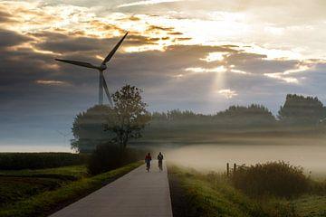 Verschwinden im Nebel von Jaap Terpstra