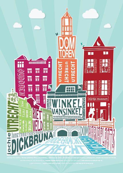 Grafisch design Utrecht van Tijmen