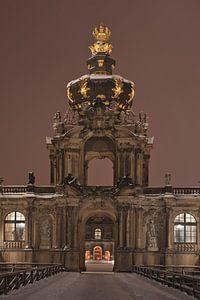 Kronentor am Zwinger Dresden