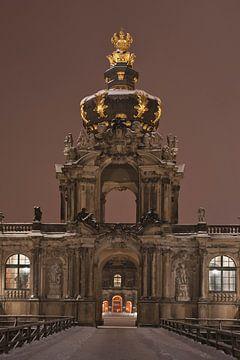 Zwinger-Building, Dresden van Gunter Kirsch