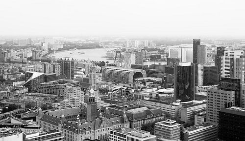 Die skyline von Rotterdam von MS Fotografie
