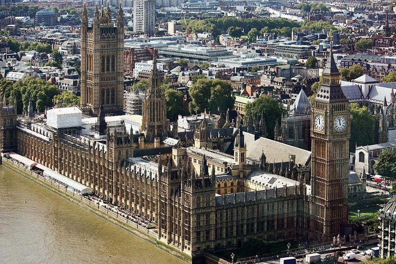 London ... Westminster & Big Ben II van Meleah Fotografie