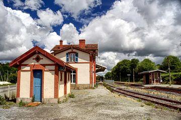 Treinstation in Frankrijk 2 van BDG pics