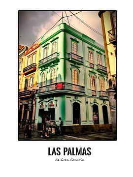 Schönes Gebäude in Las Palmas (Serie) von Remco Alberts