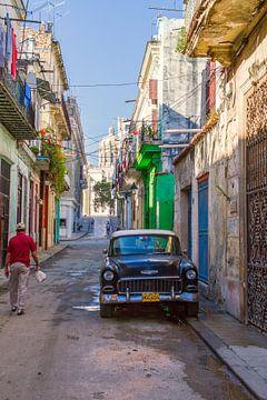 straatje in Cuba von Karin Verhoog