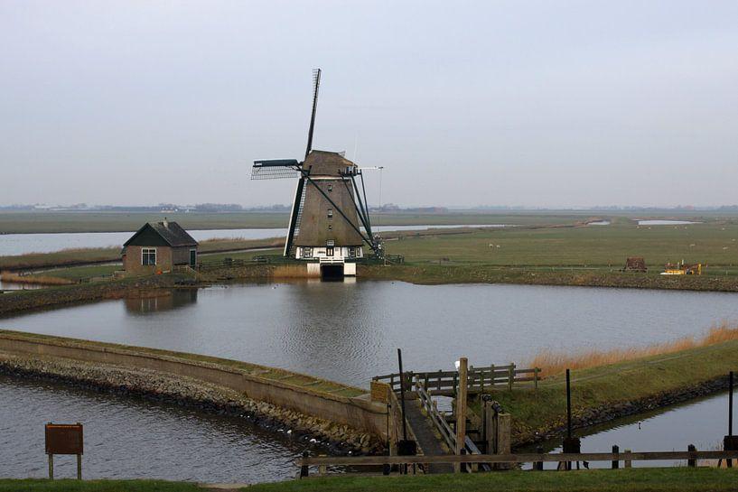 Molen op Texel van Antwan Janssen