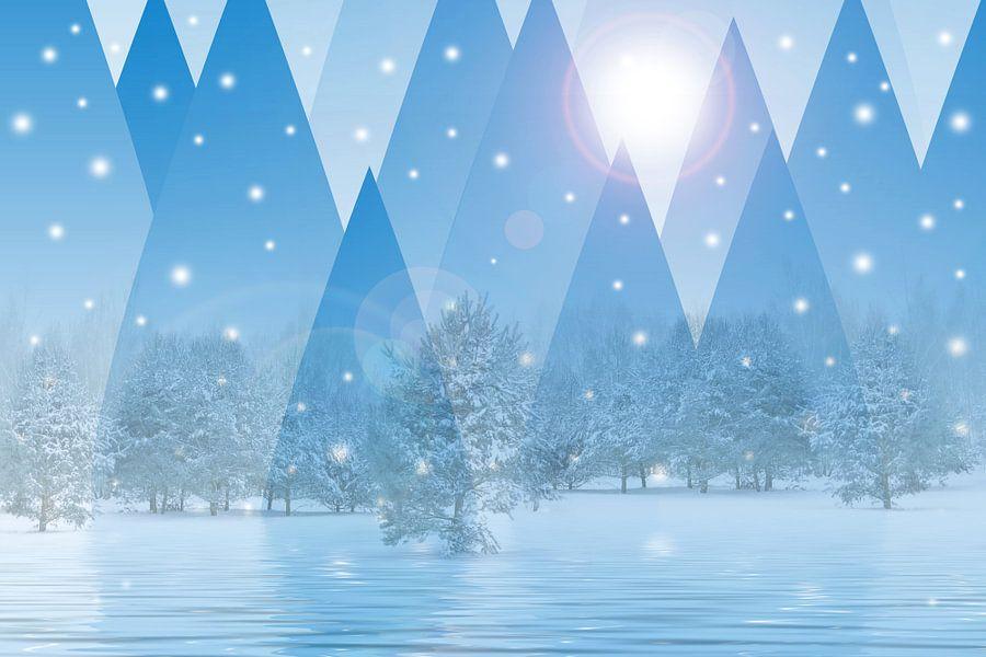 Magic winter van Violetta Honkisz