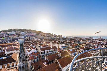 Blick auf Lissabon von