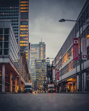 Wilhelminakade - Rotterdam von Bram Kool