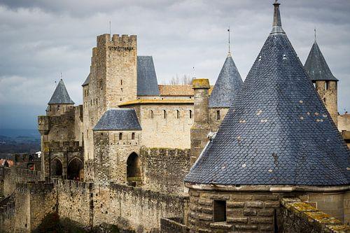 Towers of Carcassone, medieval city van Luis Fernando Valdés Villarreal Boullosa