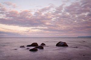 Avondsfeer aan de Oostzee van Ralf Lehmann