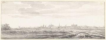 Gezicht op Leiden, Aelbert Cuyp