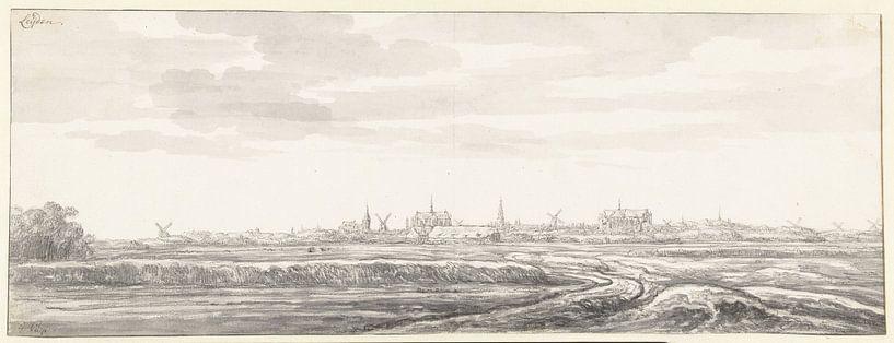 Gezicht op Leiden, Aelbert Cuyp van Meesterlijcke Meesters