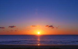 zonsondergang van Jan  Sterken