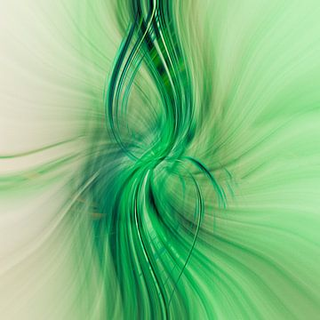Groene stromen van Dick Jeukens