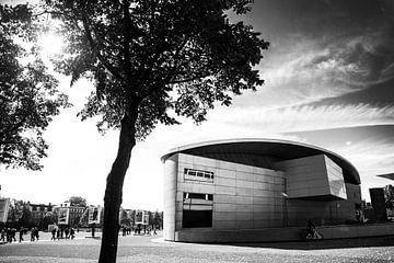 Van Gogh museum zwart-wit