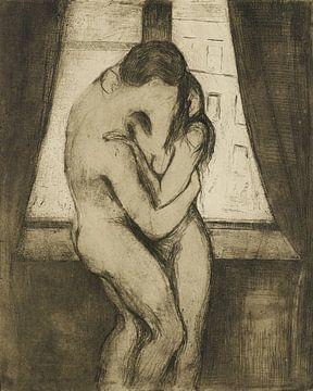 Der Kuss, Edvard Munch.