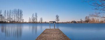 Blick auf den See. von Pieter van Roijen