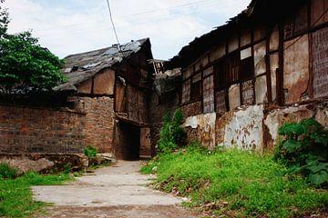 Oude Chinese boerderij von André van Bel