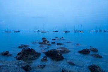 Blauw water II von Huub Keulers